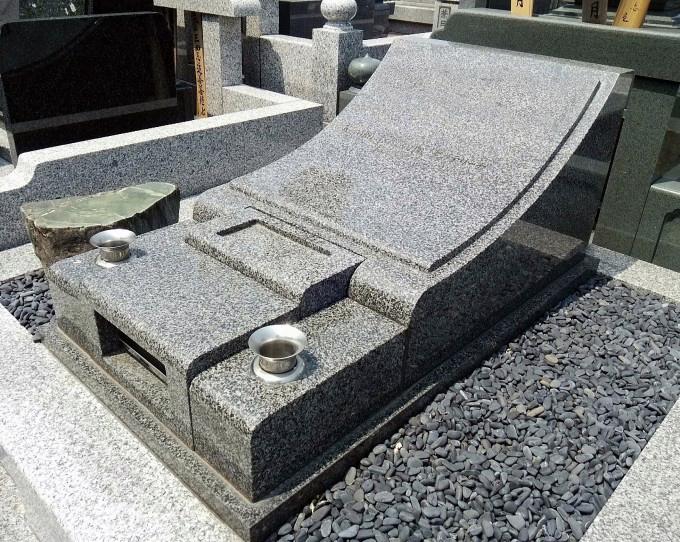 洋型墓石 [藍星]