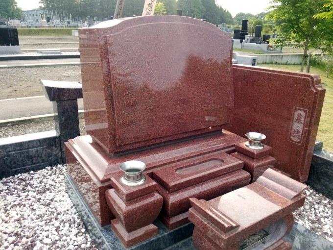 洋型墓石 [ニューインペリアルレッド]