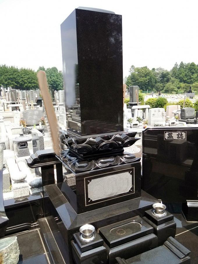 和型墓石 高級レンゲ型 [クンナム]